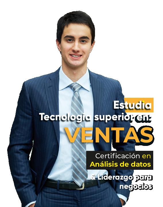 Estudia Tecnología superior en Ventas